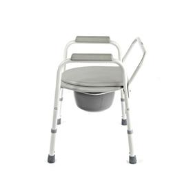 Кресло-туалет WC Econom с санитарным оснащением, без колёс, цвет микс Ош