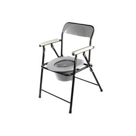 Кресло-туалет WC eFix с санитарным оснащением, без колёс, цвет МИКС Ош