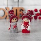 """Игрушка - подвеска """"Малыш-снежинка"""", МИКС"""