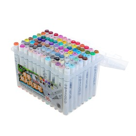 Набор маркеров Superior, профессиональные, двусторонние, 96 шт., 96 цветов, MS-888
