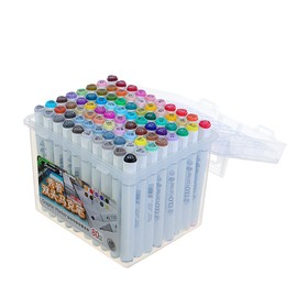 Superior marker set, professional, double-sided, 80 pcs., 80 colors, MS-888.