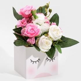 """Box for mini bouquets """"Magic"""", 12 × 20 × 10 cm"""