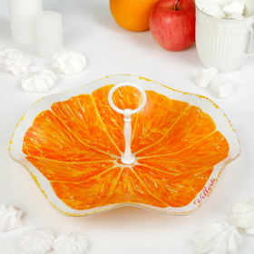 Конфетница «Апельсин. Медуза», d=30 см