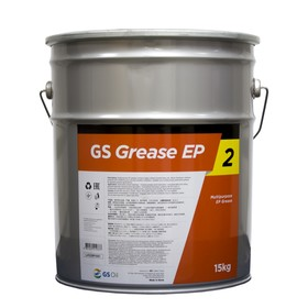 Смазка многоцелевая GS Grease EP 2 Golden Pearl, 15 кг