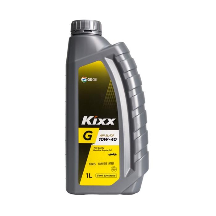 Моторное масло Kixx G SL 10W-40 Gold, 1 л
