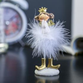 "Souvenir Polyresin ""Angel-Princess fluff-conscious"" 13х5х4,5 cm"