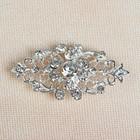 Декоративная застёжка, 6х2см, цвет серебряный