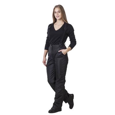 Брюки женские утепленные СЗ-7003 цвет чёрный, р-р 48-50