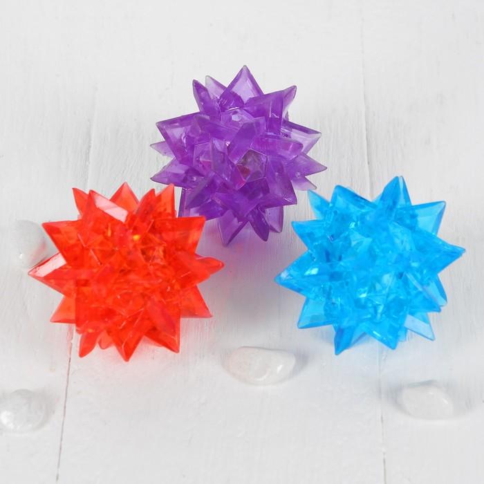 Мяч световой «Ёжик», цвета МИКС