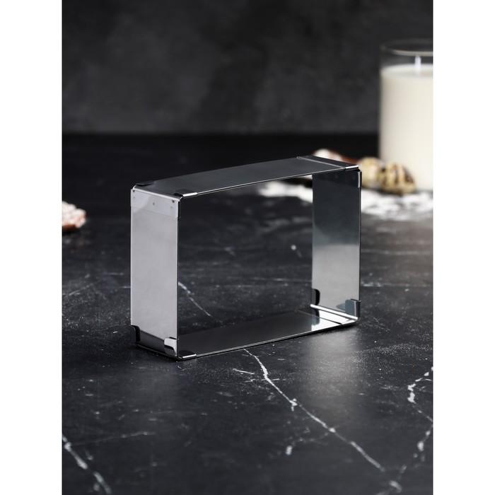 Форма для выпечки с регулировкой размера «Прямоугольная», 10 х 15-18 х 28 х 5 см