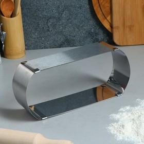 """Форма для выпечки с регулировкой размера """"Овал"""", H-6,5 см, 24х10 - 43х10 см"""