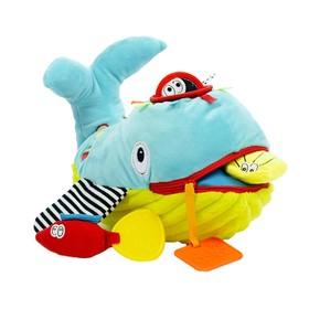Развивающая игрушка «Забавный зверь. Кит»