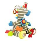 Развивающая игрушка «Забавный зверь. Зебра» - фото 107043554