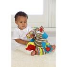 Развивающая игрушка «Забавный зверь. Зебра» - фото 107043559