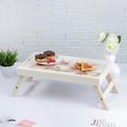 """Столик для завтрака """"Орхидеи"""", 48×28 см"""