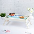 """Столик для завтрака """"С добрым утром, пляж"""", 48×28 см"""