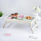 """Столик для завтрака """"Моей Любимой, розы"""", 48×28 см"""