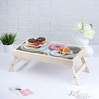 "Столик для завтрака ""Доброго утра, пончики"", 48×28 см"