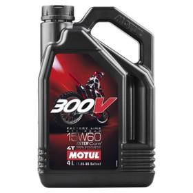 Моторное масло MOTUL 300 V 4T Off Road 15W-60, 4 л