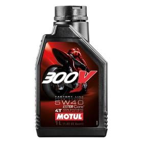 Моторное масло MOTUL 300 V 4T Road Racing 5W-40, 1 л