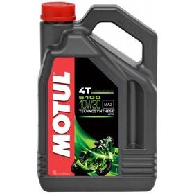 Моторное масло MOTUL 5100 4T 10W-30, 4 л