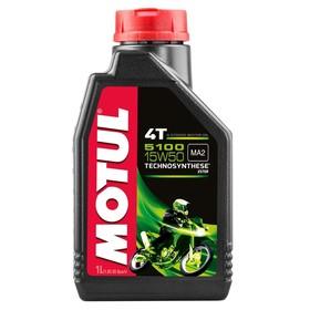 Моторное масло MOTUL 5100 4T 15W-50, 1 л