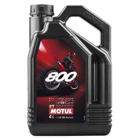 Моторное масло MOTUL 800 2T FL OFF ROAD, 4 л