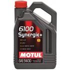 Масло моторное Motul 6100 SYN-NERGY 5W30, 4 л