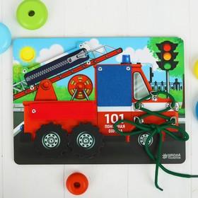 Бизиборд «Машина спецслужб» 27×20 см