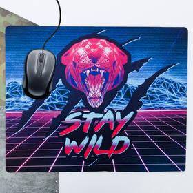 """Коврик для мыши большой """"Stay wild"""", 43 × 35 см"""
