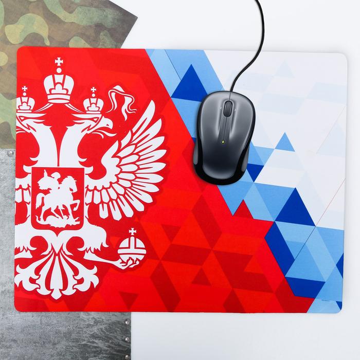 """Коврик для мыши большой """"Россия"""", 43 × 35 см"""