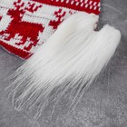 """Новогодняя ёлочная игрушка, Набор для создания подвески из ткани """"Гномик новогодний"""""""