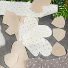 """Новогодняя ёлочная игрушка, Набор для создания подвески из ткани """"Олень в шарфике"""""""