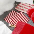 """Новогодняя ёлочная игрушка, Набор для создания подвески из фетра """"Дед мороз в красных сапожках"""""""