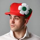 """Карнавальная шляпа """"Хлопчик"""", цвет красно-зелёный"""
