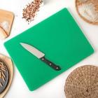 Доска разделочная 40х30х1,8 см, цвет зеленый