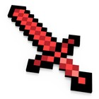 Игрушка «Меч 8Бит», красный, пиксельный, 60 см