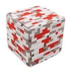 Мягкая игрушка куб Redstone Ore, 20 см