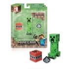 """Фигурка Minecraft Creeper """"Крипер с аксессуарами"""",пластиковая, 8 см"""