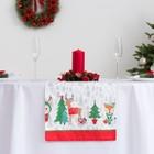 """Дорожка на стол """"Этель"""" Сказка в Новый год 40х148 см, 100% хл, саржа 190 гр/м2"""