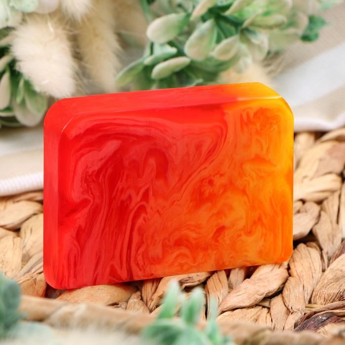 """Косметическое мыло для бани и сауны """"Грейпфрут и Лемонграсс"""", """"Добропаровъ"""", 100 гр."""