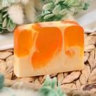 """Косметическое мыло для бани и сауны """"Нежный персик"""", """"Добропаровъ"""", 100 гр."""