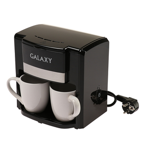 Кофеварка Galaxy GL 0708, капельная, 750 Вт, 0.3 л, чёрная