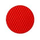 Светоотражающая наклейка, круг D5 cм, красный
