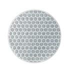 Светоотражающая наклейка, круг D5 cм, белый