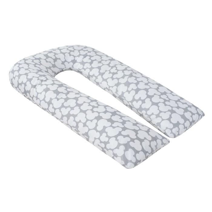 Подушка для беременных U-образная, размер 35 × 340 см, мышонок серый