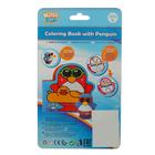 Игрушки для купания «Весёлые пингвины» с книжкой, на присоске - фото 105534091