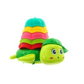 Игрушки для купания «Черепашка со стаканчиками», цвет МИКС