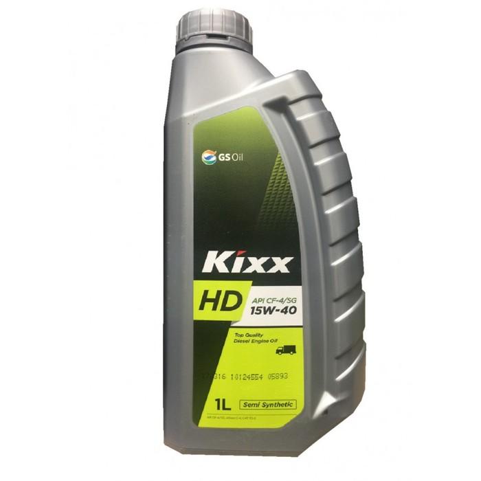Моторное масло Kixx HD CF-4 15W-40 Dynamic, 1 л