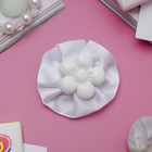 "Hair clip ""Little lady"" flower, white"